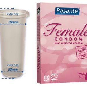 FEMIDON PRESERVATIVO FEMENINO 3UDS