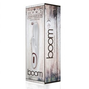 BOOM MAPLE VIBRADOR BLANCO