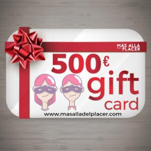 500 Euros Gift Card