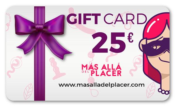 Gift Card Más Allá del Placer