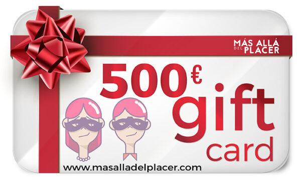 Gift Card Tarjeta Regalo Más Allá del Placer