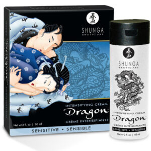 SHUNGA DRAGON CREMA SENSITIVE PARA PAREJAS